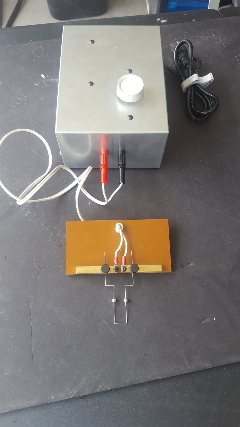 Power Supply with Cutting Tool - Finished Project
